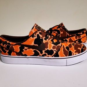 Nike SB Zoom Stefan Janoski Canvas Camo Shoes